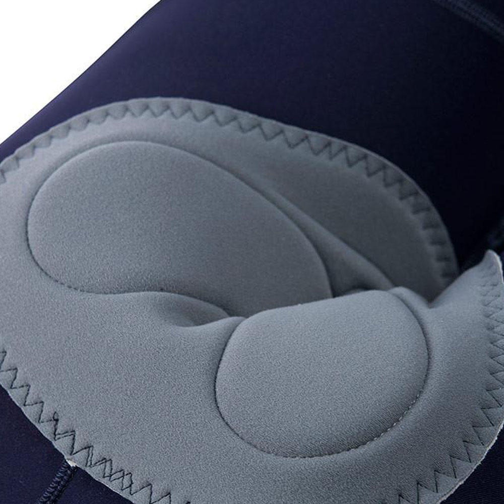 Attaquer cuissard All Day bleu marine logo noir